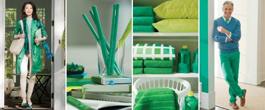 Vuoden 2013 väri on vihreä 1