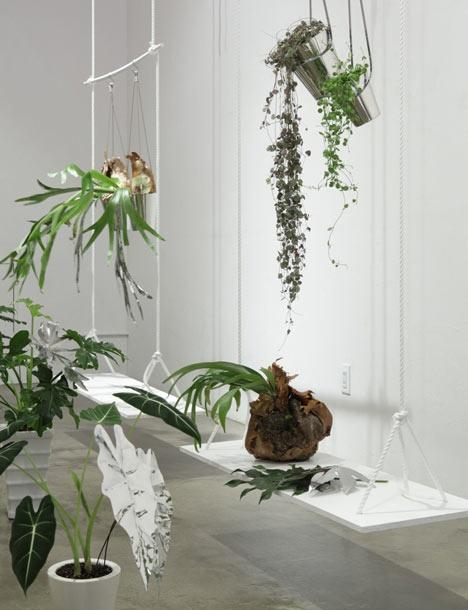 Viherkasvit keinussa