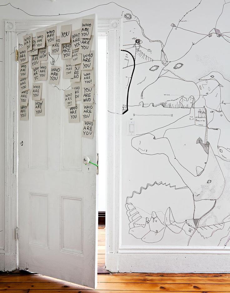 valkoinen seinä