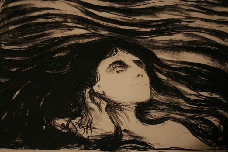 Edvard Munch Rakkauden aalloilla