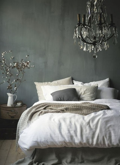 Harmaa makuuhhuone 2