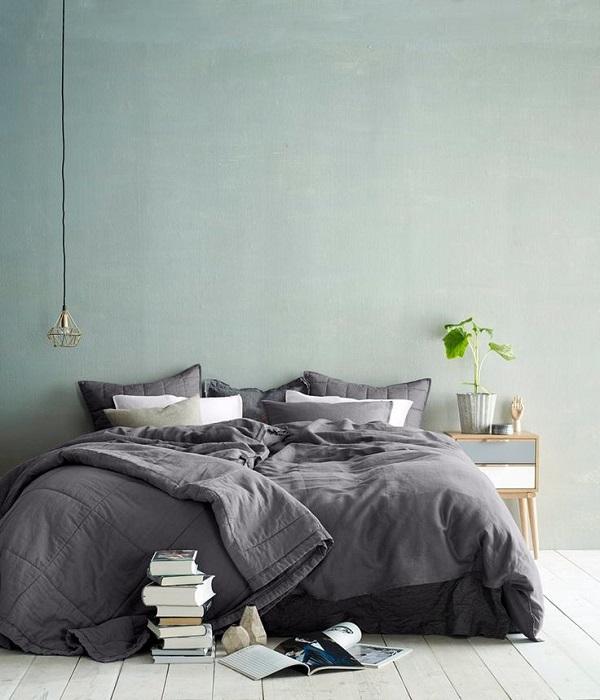 harmaa makuuhuone 5