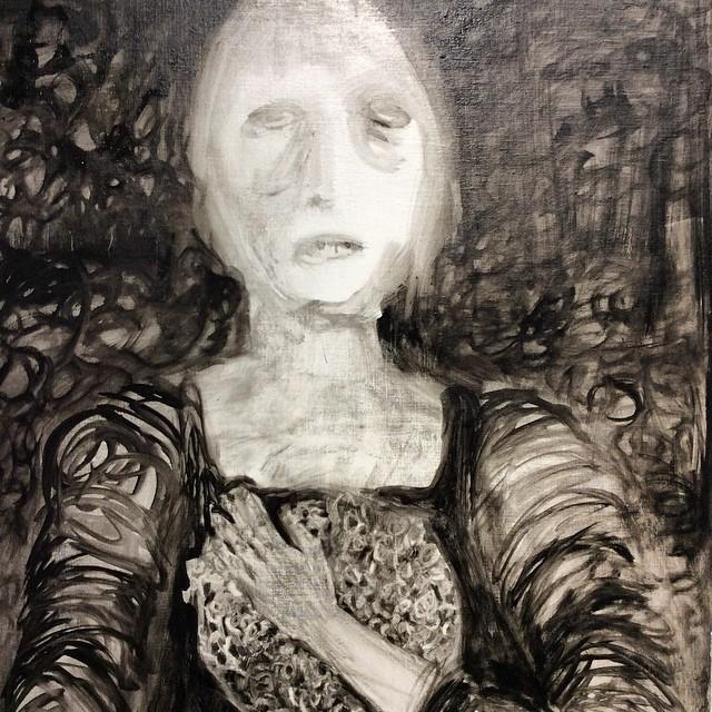 The portrait, Sanna Haimila
