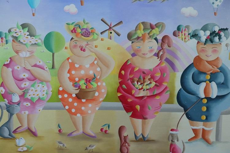 Vuuodenajat - Elisabeth Davy-Boutier
