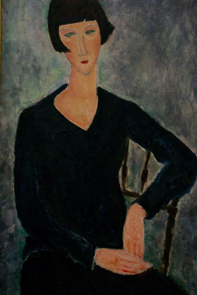 nainen-sinisessa-mekoss-istuu-1919-amedeo-modigliani